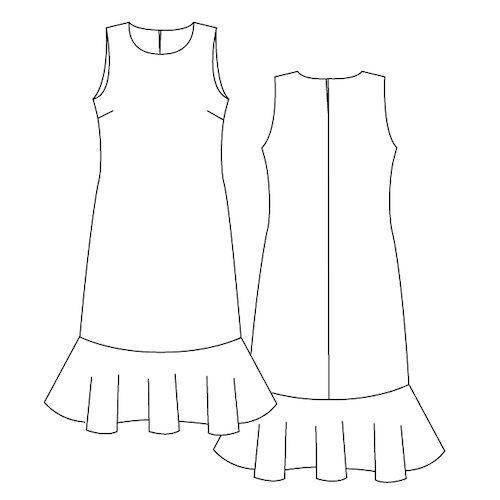 Patron de couture robe Midinette - Lot Of Things