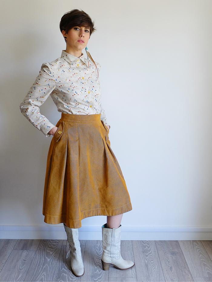 Patron de couture jupe Pâquerette - Lot Of Things