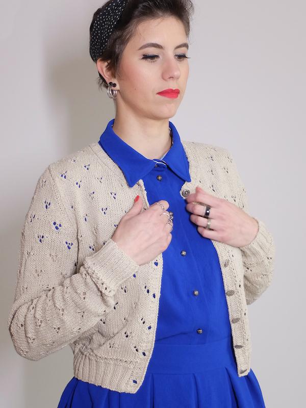 Tutoriel tricot gilet Bergamote - Lot Of Things