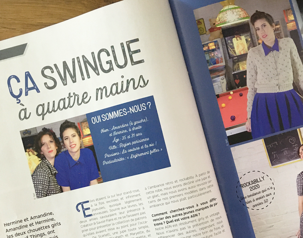 Article passion creative mag - On parle de nous - Lot Of Things