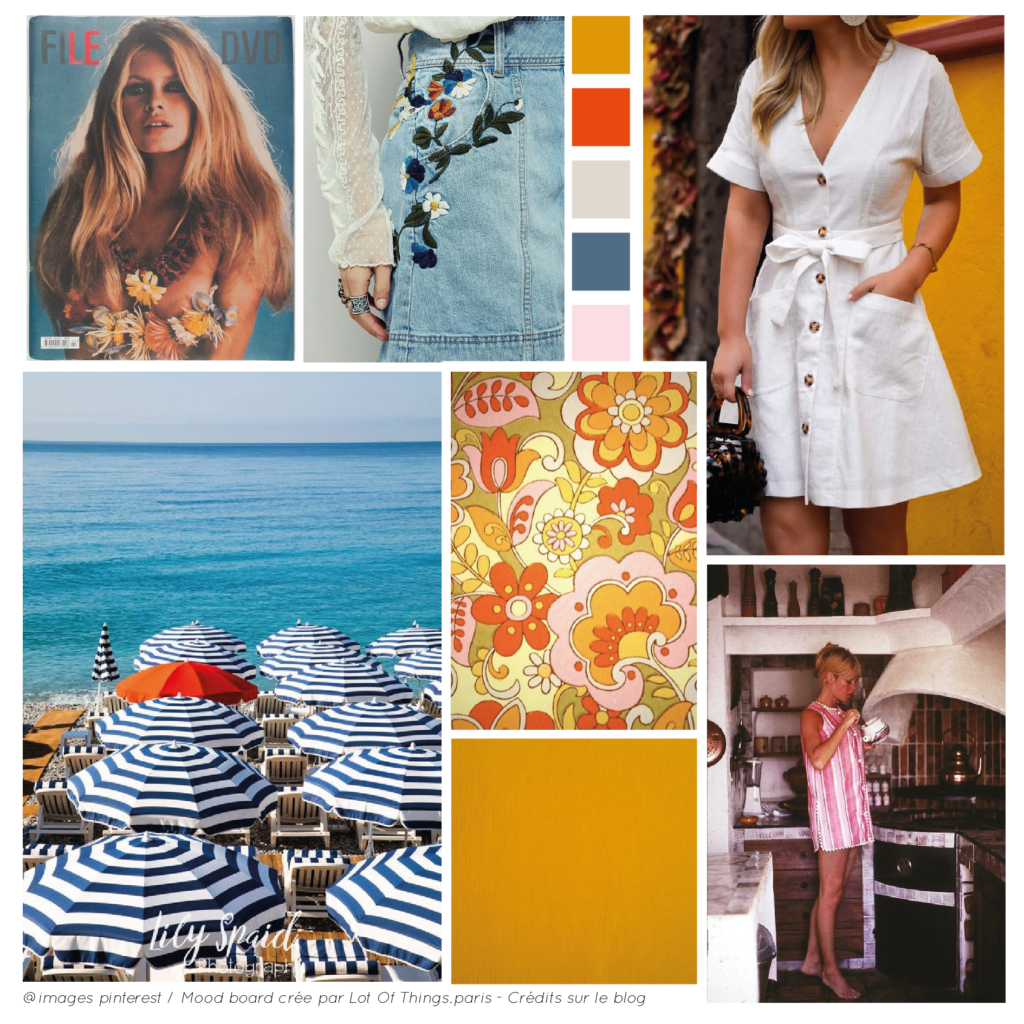 Page ambiance St tropez - Collection PE2020 - Lot Of Things